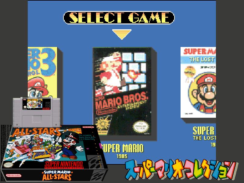 Super Mario All-Stars (U) [!], 4 images mix
