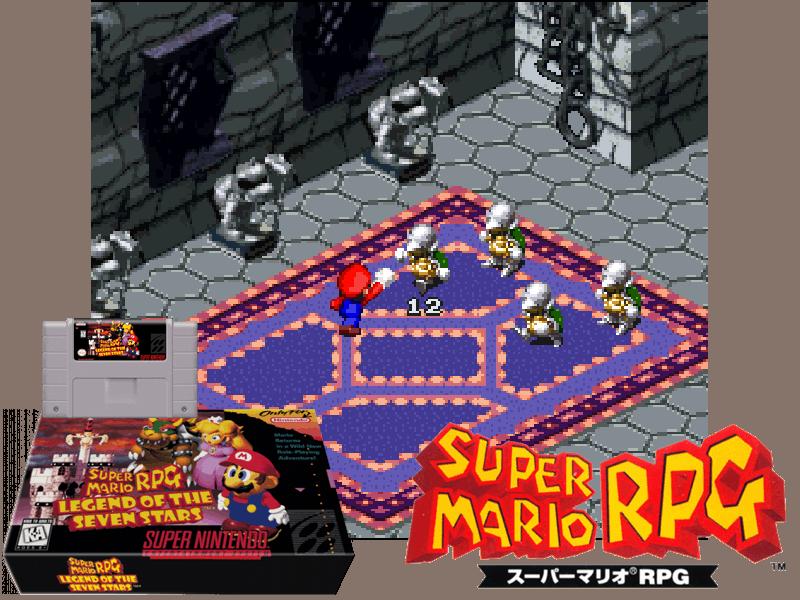 Super Mario RPG - Legend of the Seven Stars (U) [!], 4 images mix