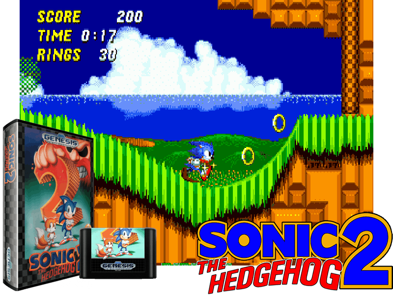 Sonic The Hedgehog 2 (W) (REV00) [!], 4 images mix