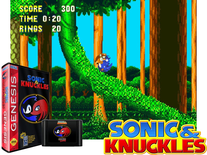 Sonic and Knuckles (W) [!], 4 images mix